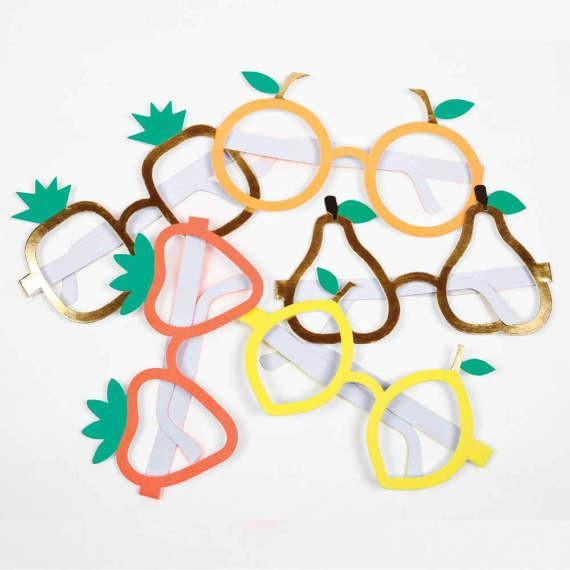 Fruity Party Glasses