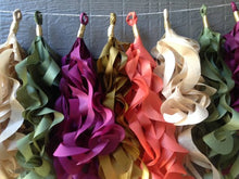 Fall Curly Tassel Garland