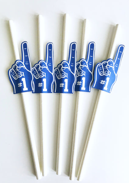 sports team party straws