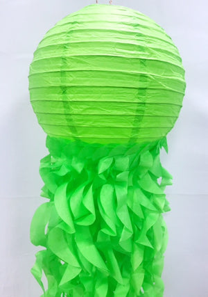 chinese paper lantern in green