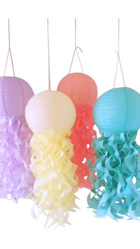 Jellyfish Lanterns-Spring