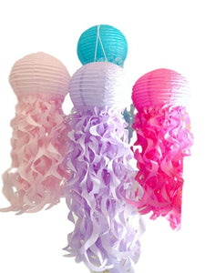 Jellyfish paper lanterns