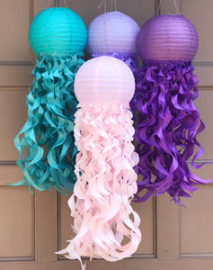 Jellyfish paper lanterns by Republic Of party
