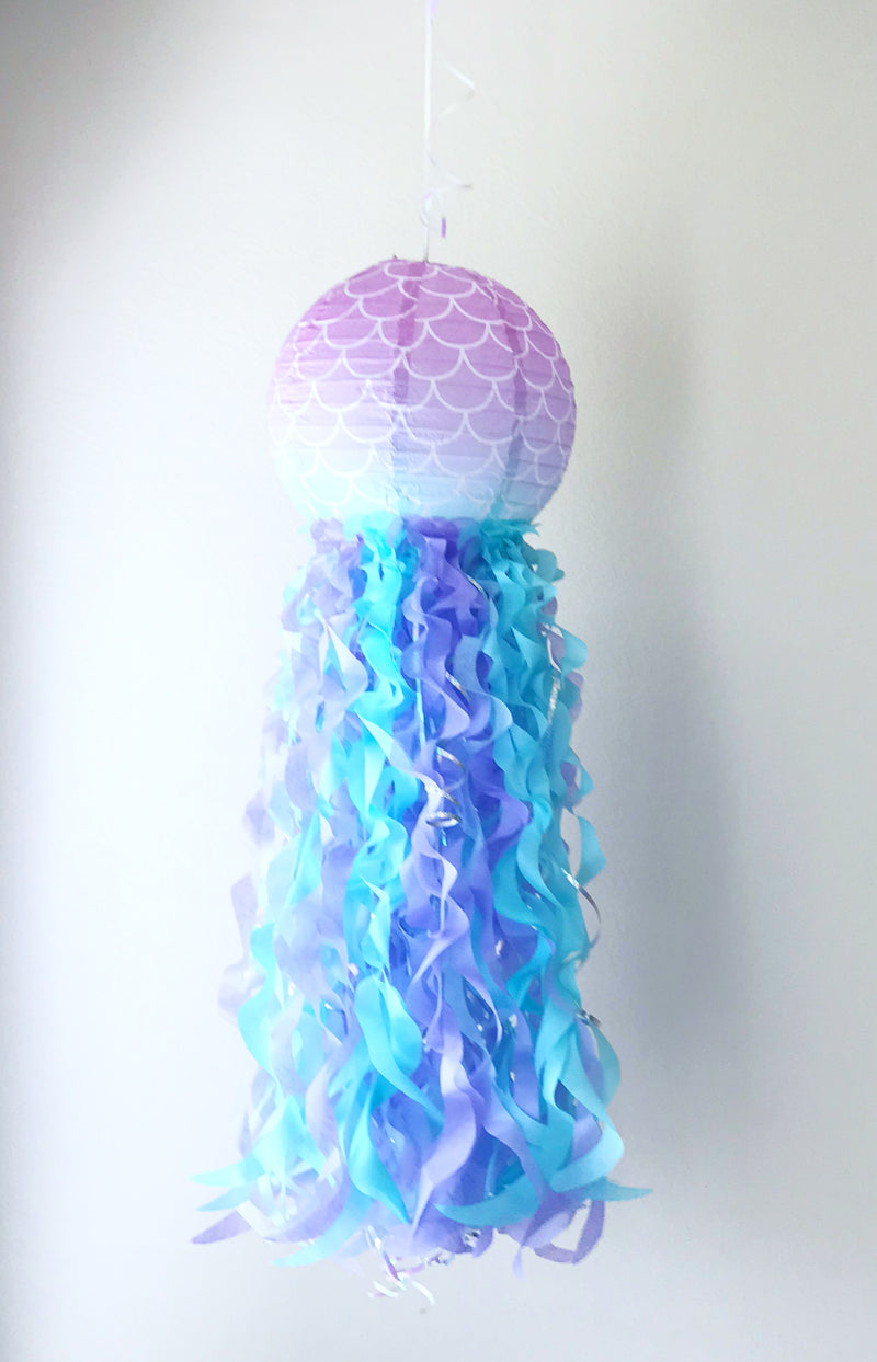 mermaid scale paper lantern