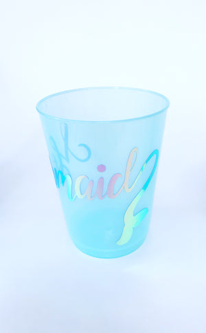 Mermaid drinking cups