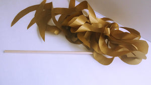 Metallic Gold Paper Wand Streamers