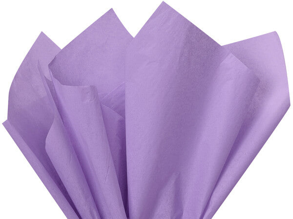 light purple tissue paper, soft lavender tissue paper