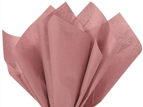 rose gold tissue paper. 100% recycled tissue paper for gift bags and wrapping presents