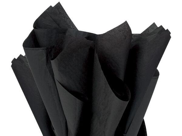 black tissue paper eco friendly