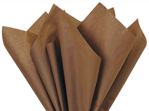 Chocolate Recycled Tissue Paper
