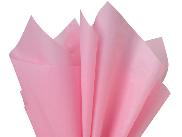 dark pink recycled tissue paper