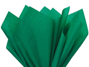 emerald green recycled tissue paper