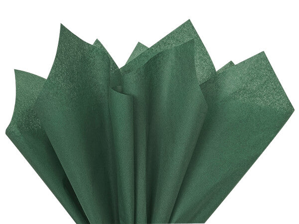 Forest Green Recycled Tissue Paper