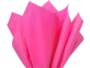 hot pink recycled tissue paper