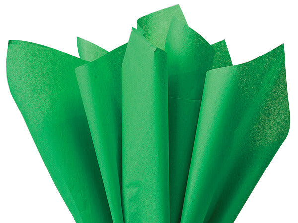 kelly green tissue paper