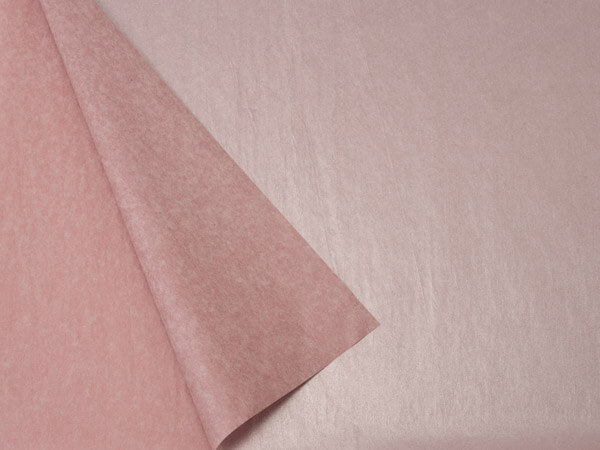 metallic rose gold tissue paper