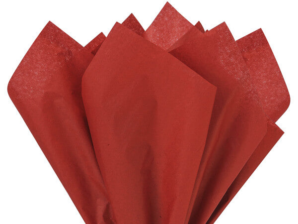 tissue paper scarlet red