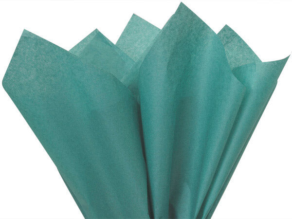Aqua Curly Tissue Paper| Tissue Toss| Recycled Tissue Paper| Customize your colors