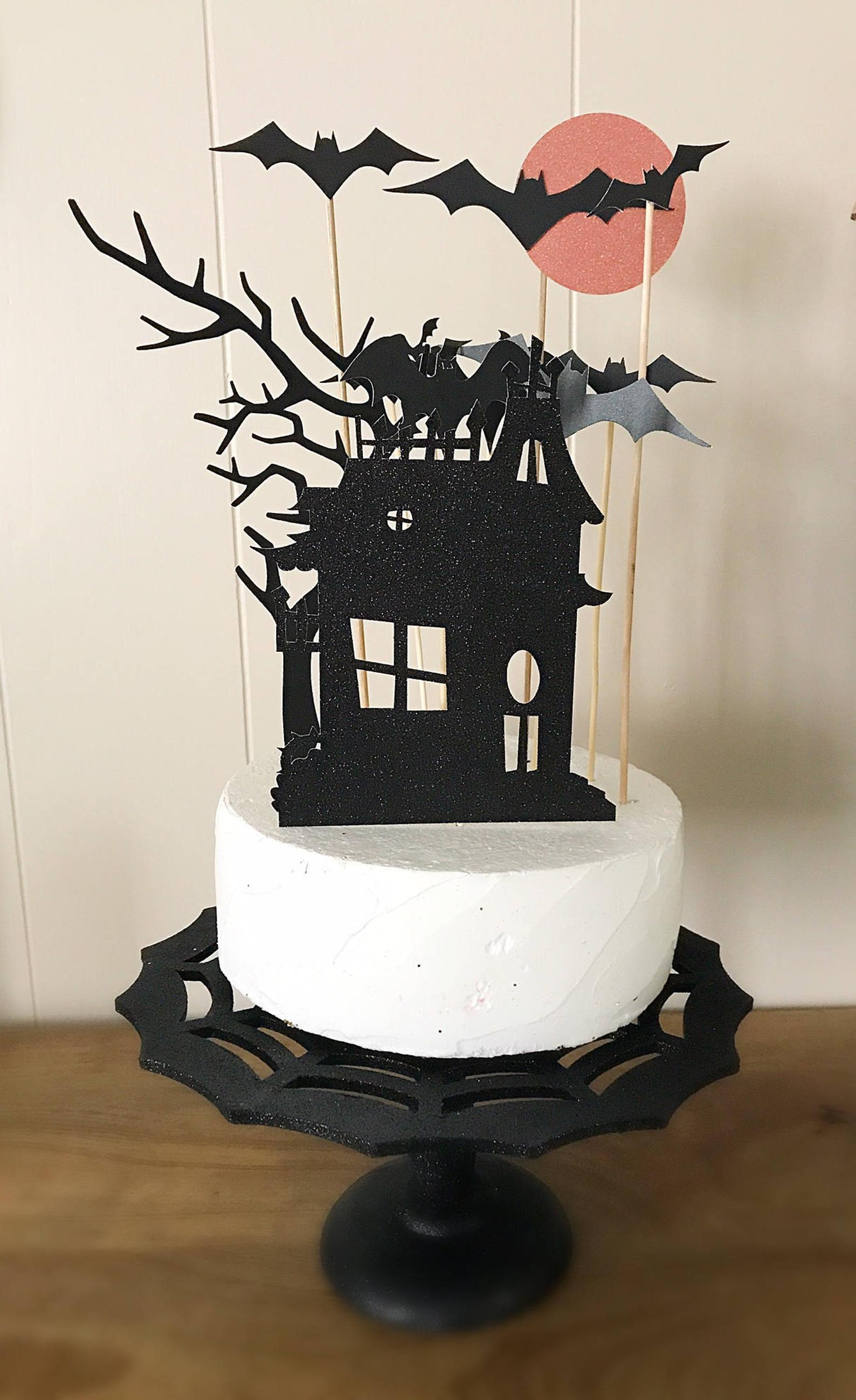 cake toppers for halloween party