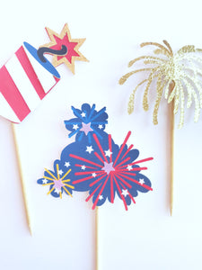 independence day party toppers