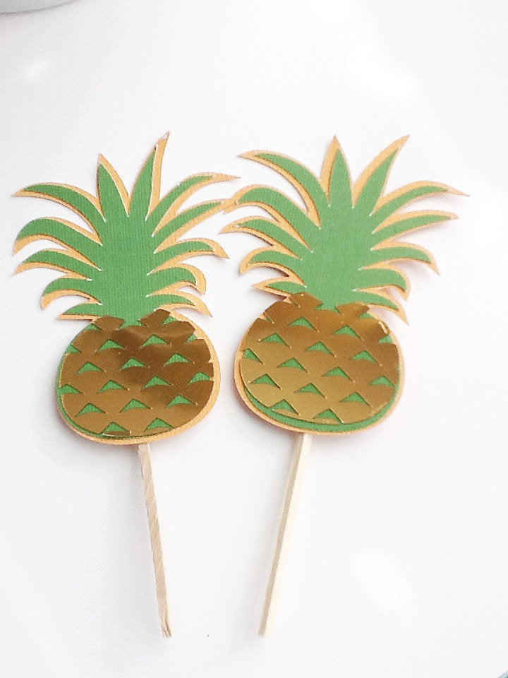 pineapple toppers