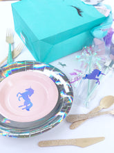 unicorn party plates, unicorn party cups