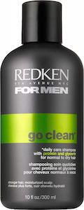 Redken For Men Go Clean Daily Care Moisturizing Shampoo