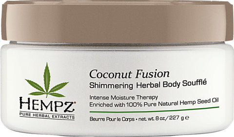 Hempz Coconut Fusion Shimmering Herbal Body Soufflé