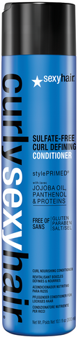 Curly Sexy Hair Sulfate-Free Curl Defining Conditioner
