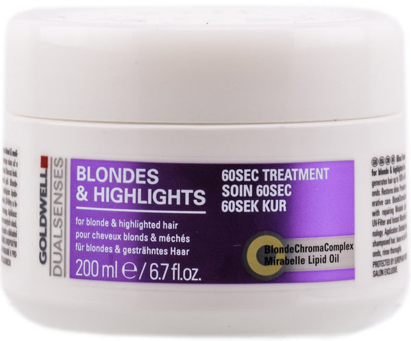 Goldwell DualSenses Blondes & Highlights 60 Sec Treatment