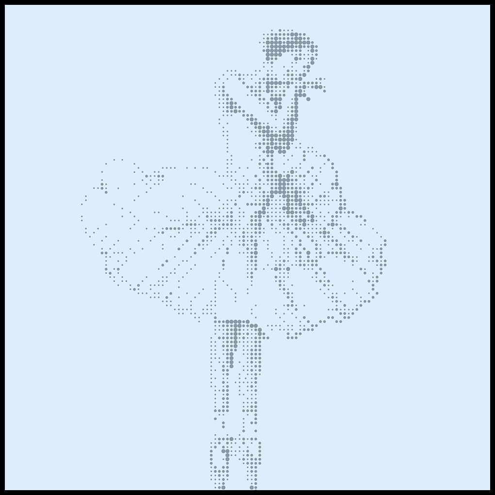 "<b>""Gentle Turns""</b> <p>Ballerina</p><p> [32""x32""]</p>"