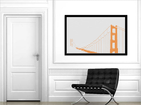 """RIVETING"" <p>(Golden Gate Bridge)</p>"