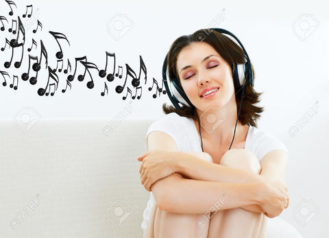 Enjoying music