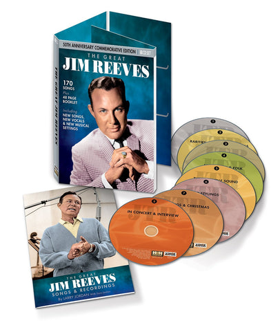 """THE GREAT JIM REEVES"" 8-CD SET"