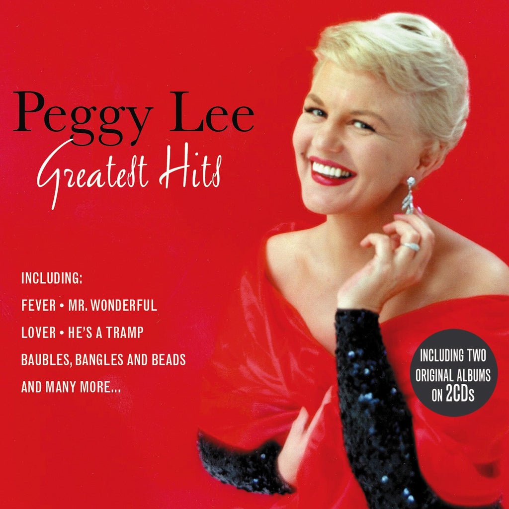 """PEGGY LEE GREATEST HITS"" 2 CDs"