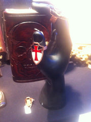 handmade templar cross ring