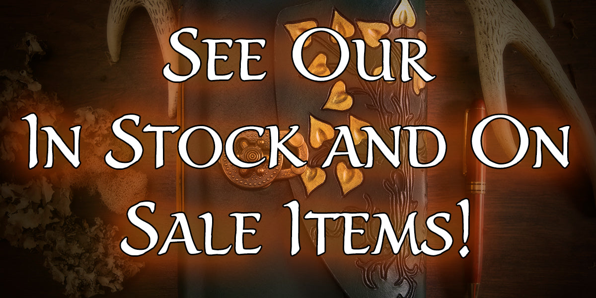 in stock and on sale items