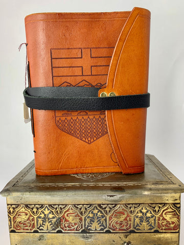 Alberta Crest 4 x 6 Leather Journal