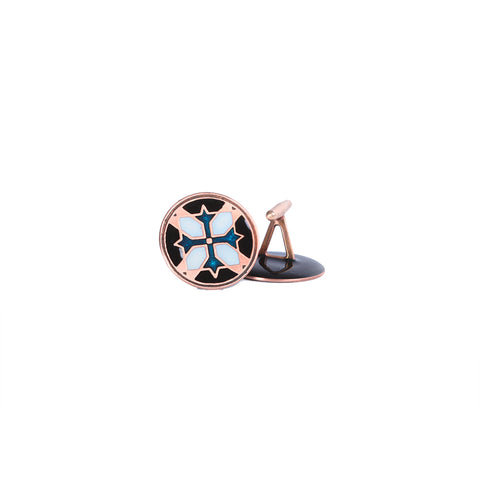 Copper Tile Cufflinks