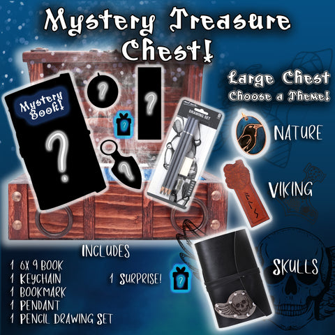 Mystery Treasure Chest - Large with Book
