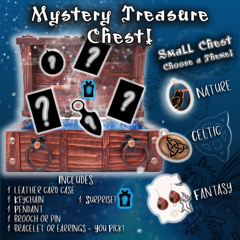 Mystery Treasure Chest - Small with Jewelry