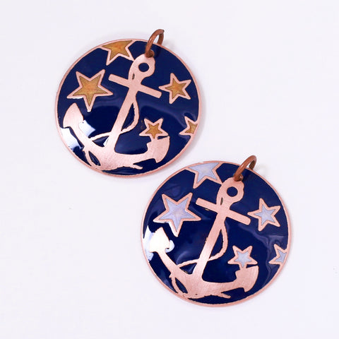 Copper and Brass Anchor Jewelry - A Symbol of Hope and Luck