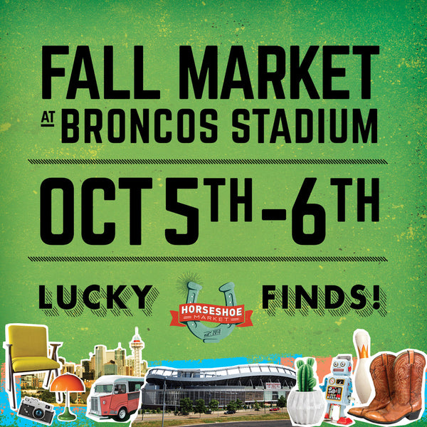 Horseshoe Market in Denver on October 5th and 6th