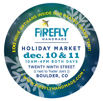 Firefly Handmade Holiday Market - December 10 & 11, 2016