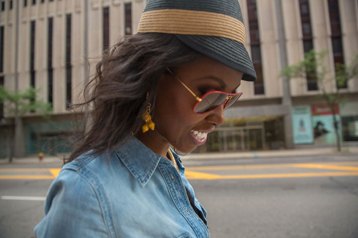 BCBG-Hat-RayBan-Sunglasses-Earrings-by-Dalasini