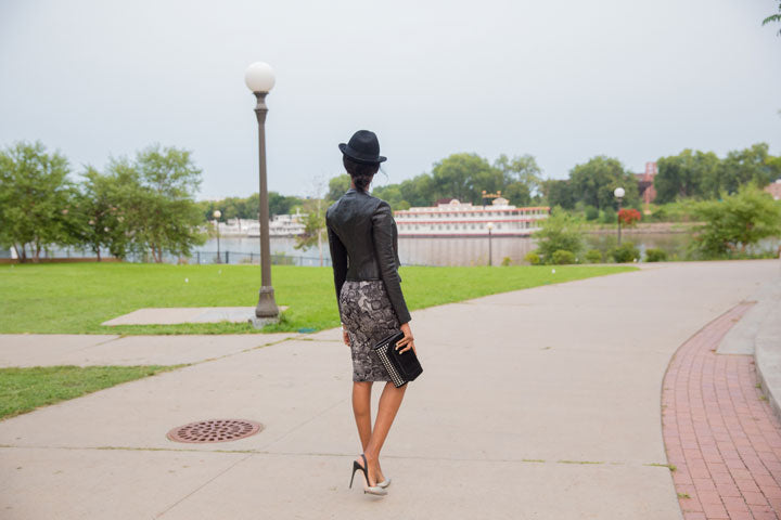 BCBG-Jacket-Skirt-Clutch-Pumps-J.Crew-Hat