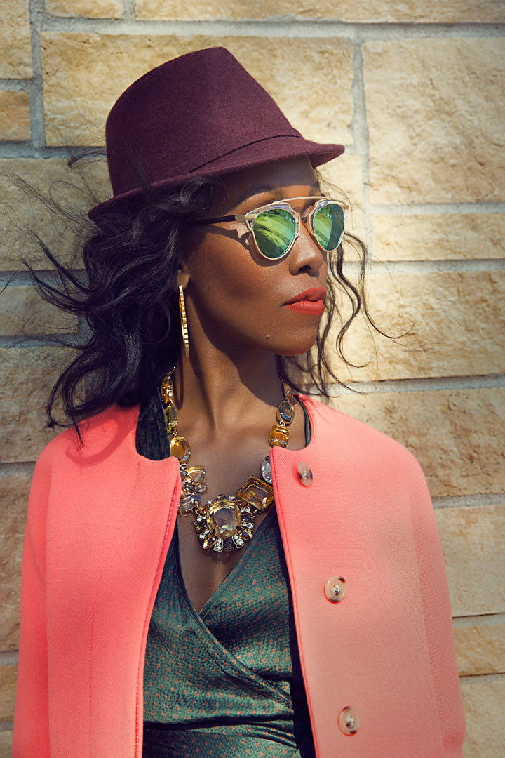 Dior-Sunglasses-J.Crew-Coat-BCBG-Hat-Jewelry-Dress