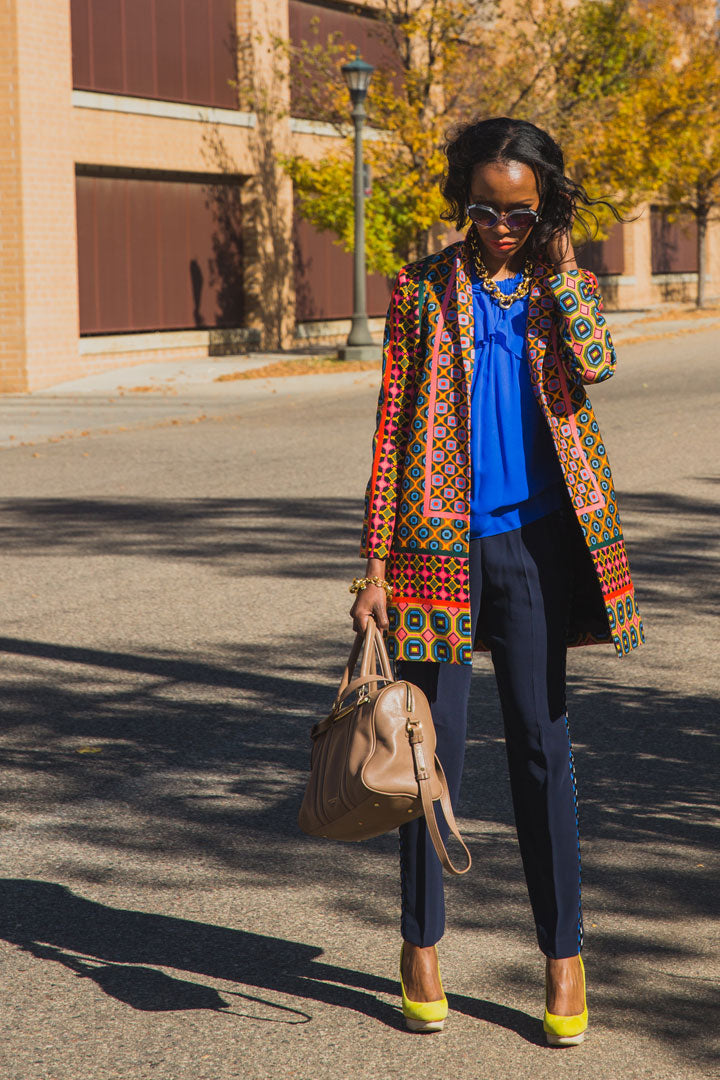 J.Crew-Coat-Pants-BCBG-Blouse-Heels