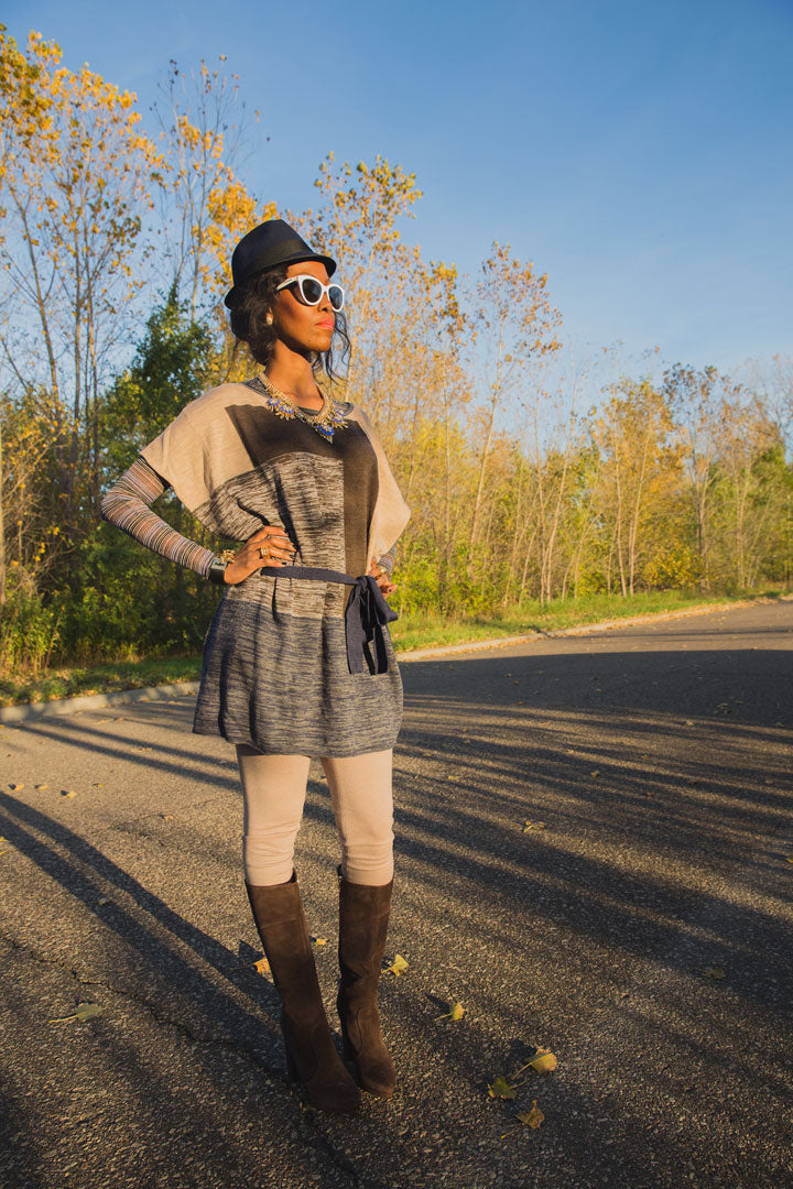 J.Crew-Hat-BCBG-Jewelry-Cape-T-shirt-Leggings-Boots-Dolce-and-Gabbana-Sunglasses