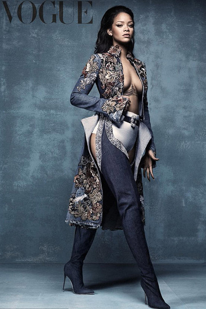 Rihanna-Manolo-Blahnik-Denim-Desserts-9-to-5